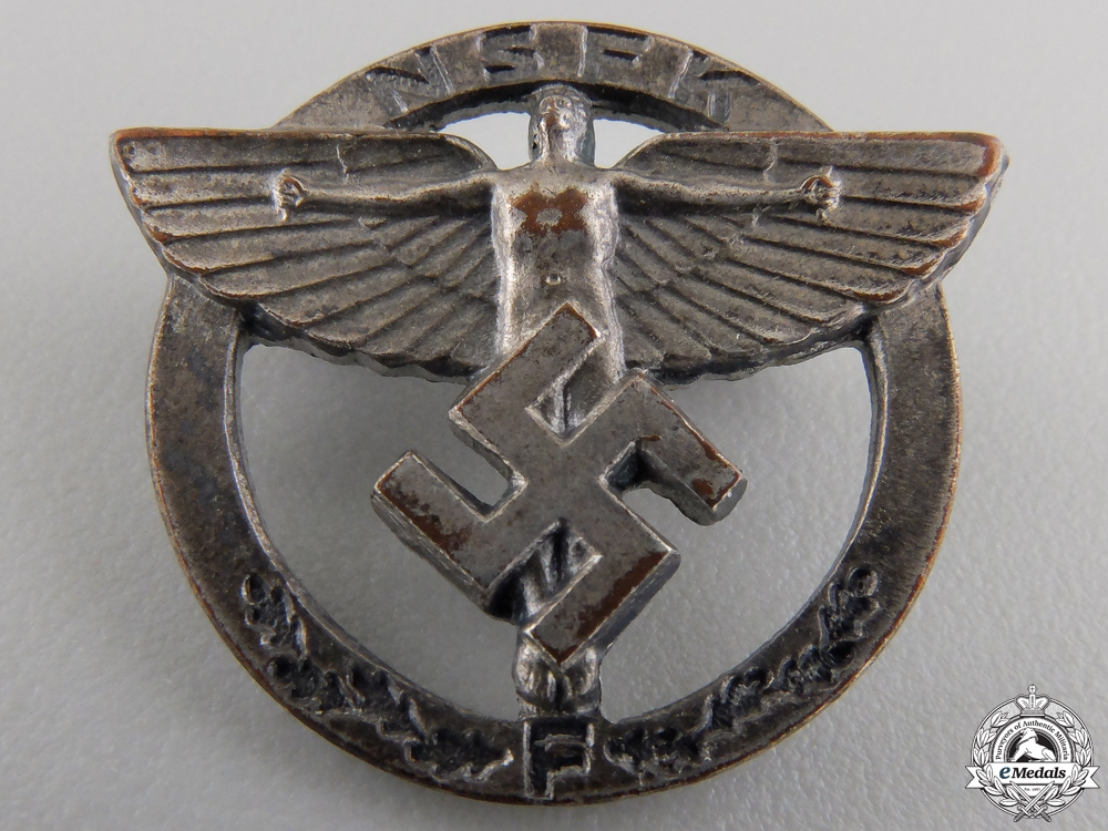 An NSFK Members Badge by Gustav Brehmer