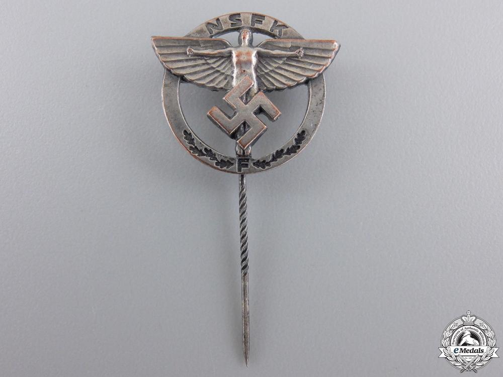 An NSFK Membership Stickpin