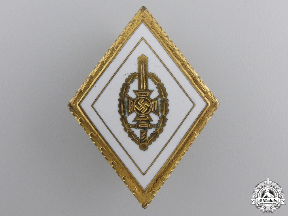 An NSKOV Honor Badge with Oakleaves