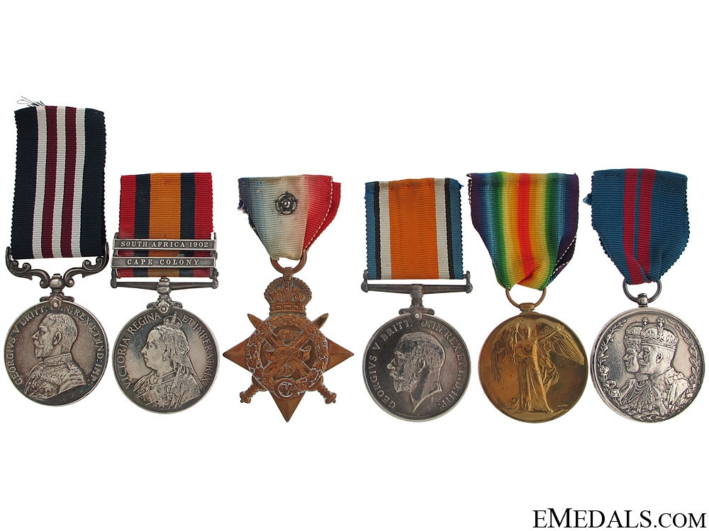 An Old Contemptibles Military Medal Group