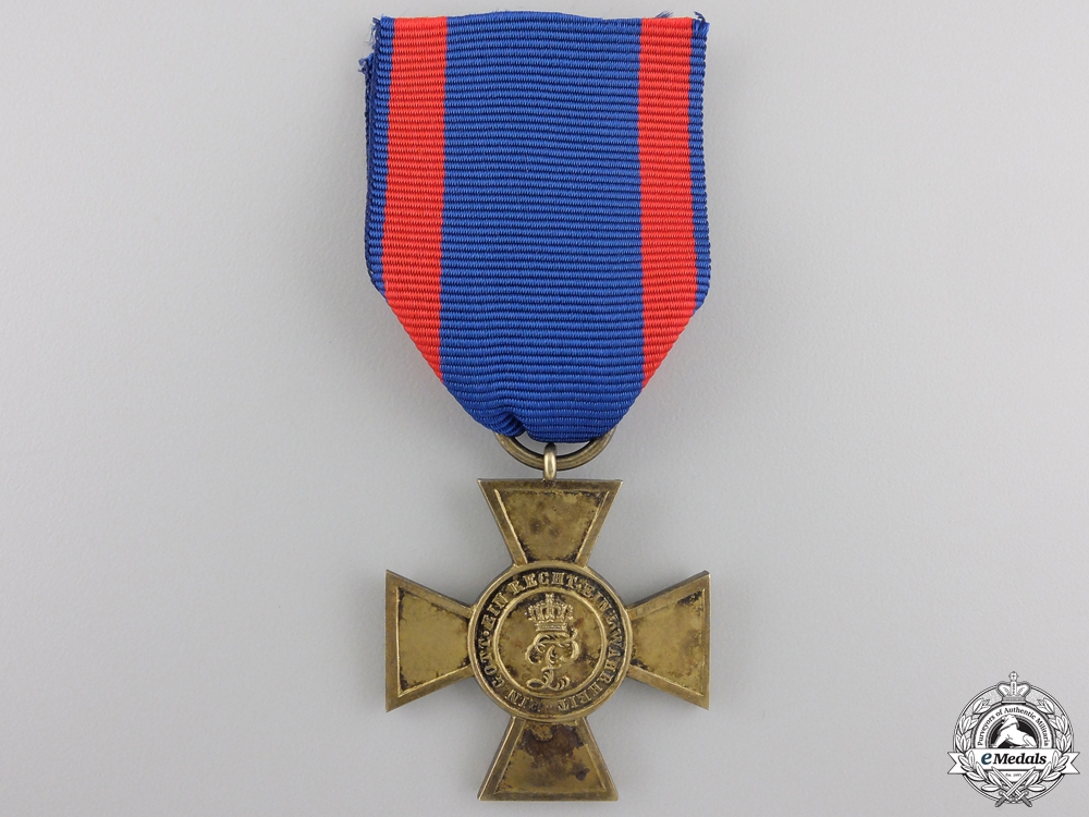 An Oldenburg War Merit Cross 1838-1918; First Class