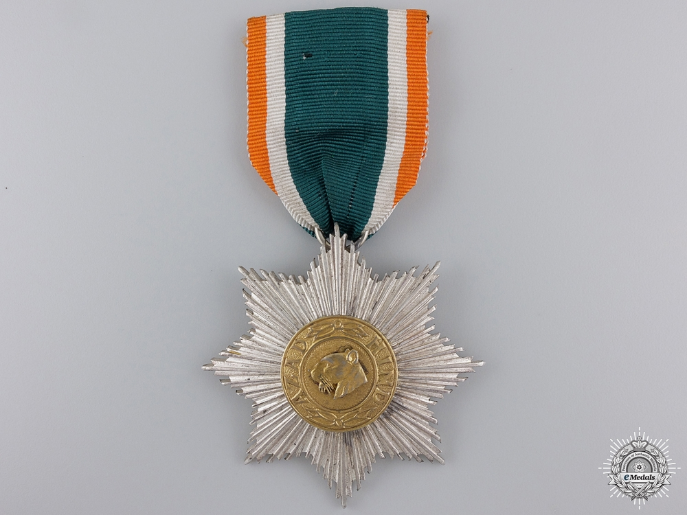 An Order of Azad Hind; Second Class Star by Rudolf Souval
