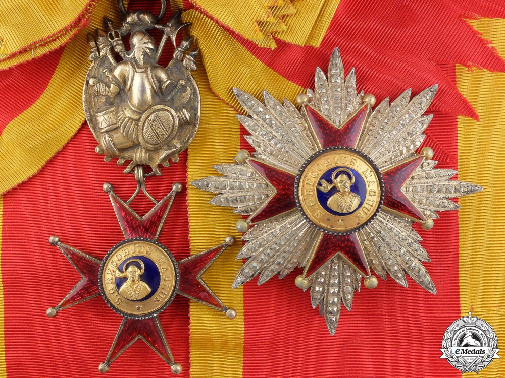 An Order of St. Gregory the Great; Military Division Grand Cross