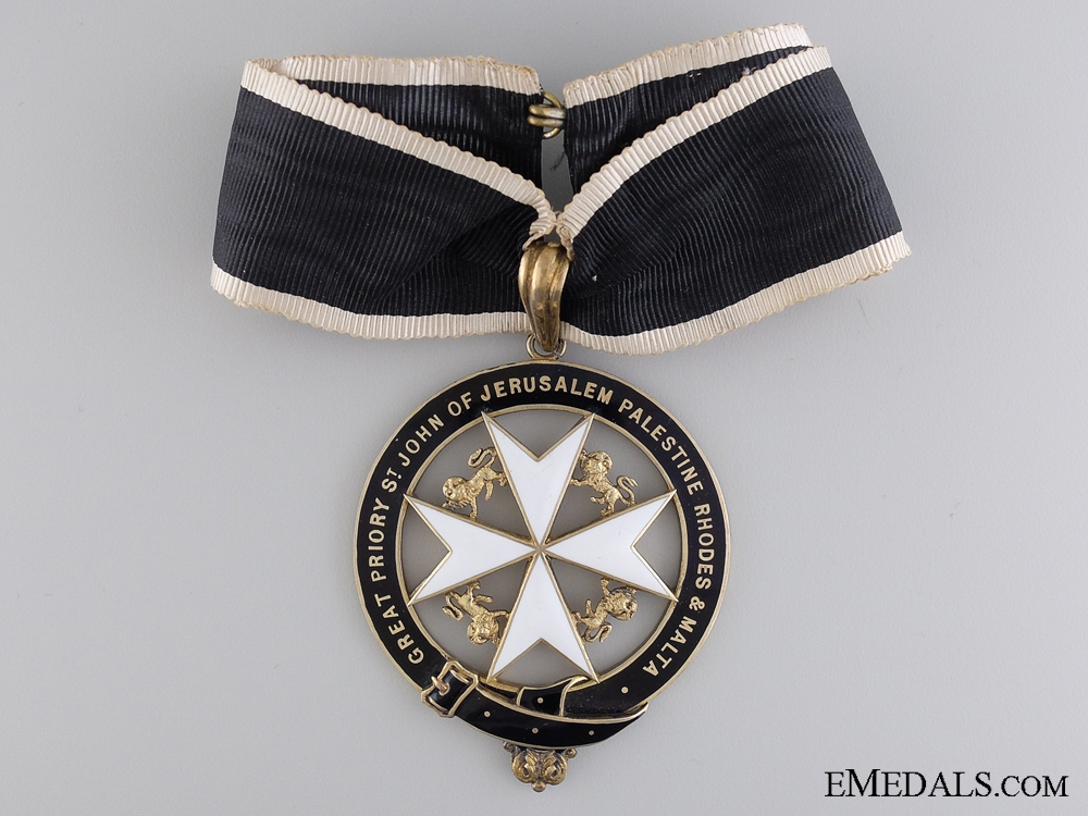 An Order of the Great Priority St. John and Malta; Commander
