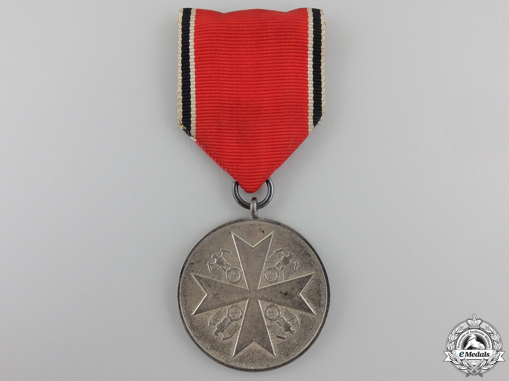 An Order of the German Eagle, Silver Merit Medal, Maker marked
