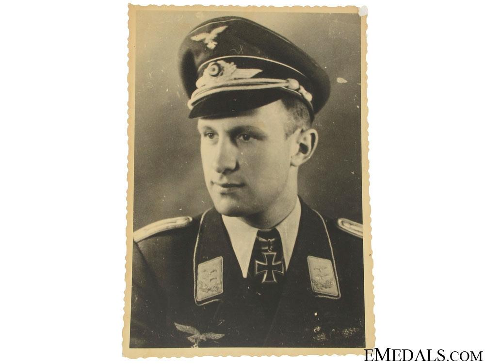 An Original Luftwaffe KC Winner Photo