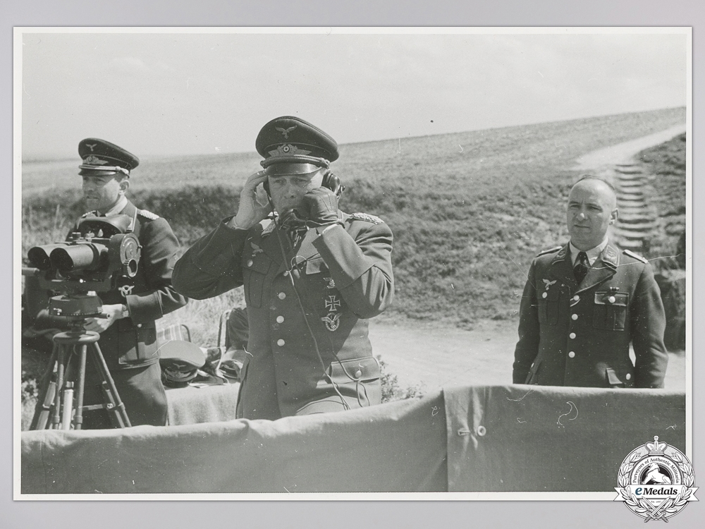 An Original War Time Photo of  Albert Kesselring