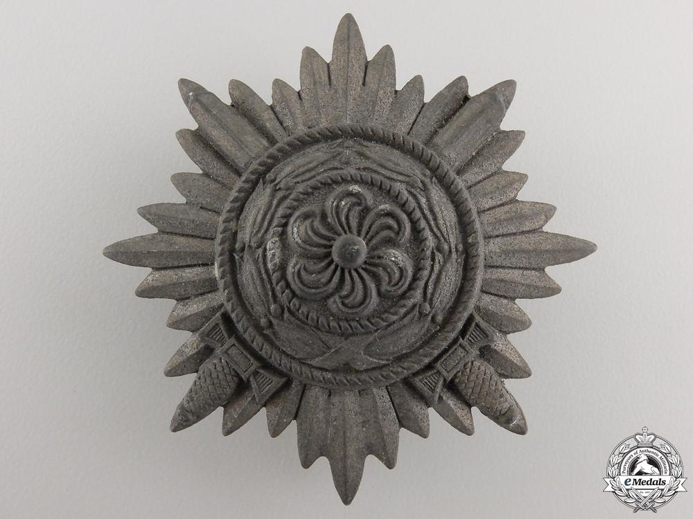 An Ostvolk Decoration for Bravery; First Class