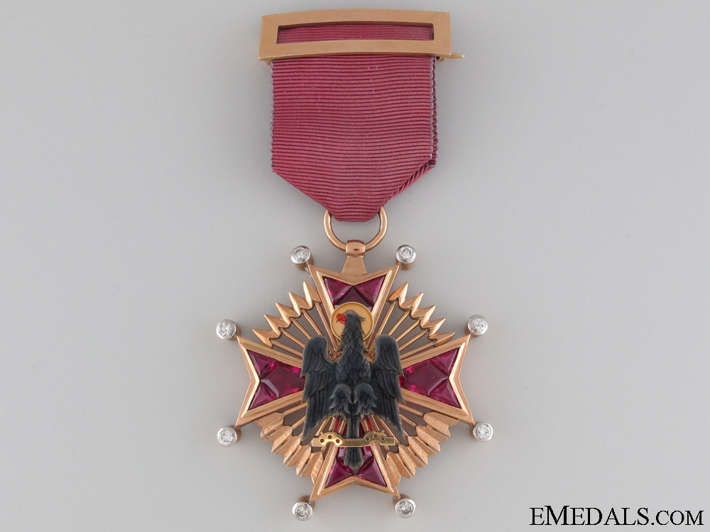 An Outstanding Gold & Diamond Order of Cisneros