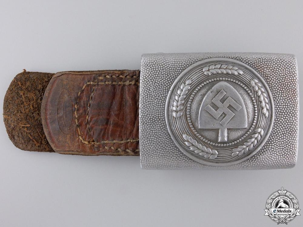 An RAD Belt Buckle 1936 by Assmann
