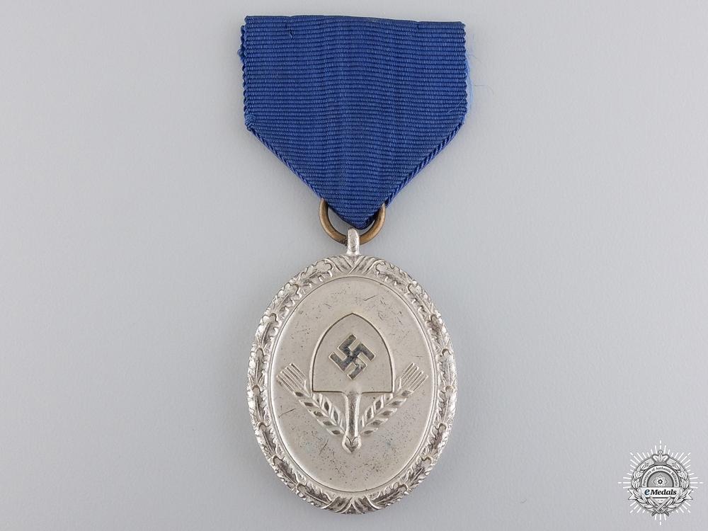 An RAD Long Service Award; Third Class