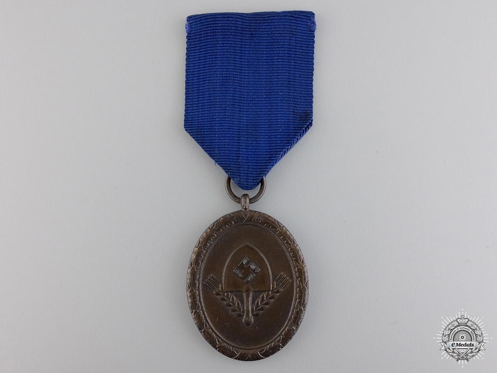 An RAD Long Service Award; Fourth Class
