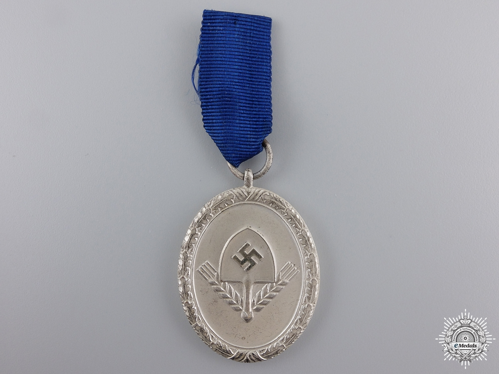 An RAD Long Service Award; Third Class