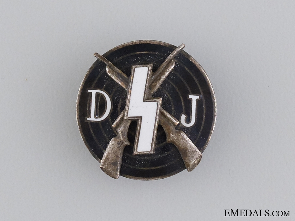 An RZM Marked DJ Shooting Badge
