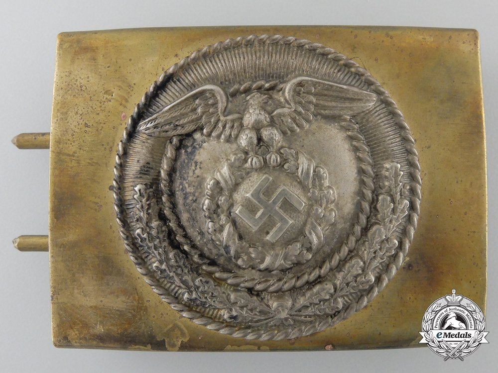 An SA Enlisted Men/NCOs Belt Buckle