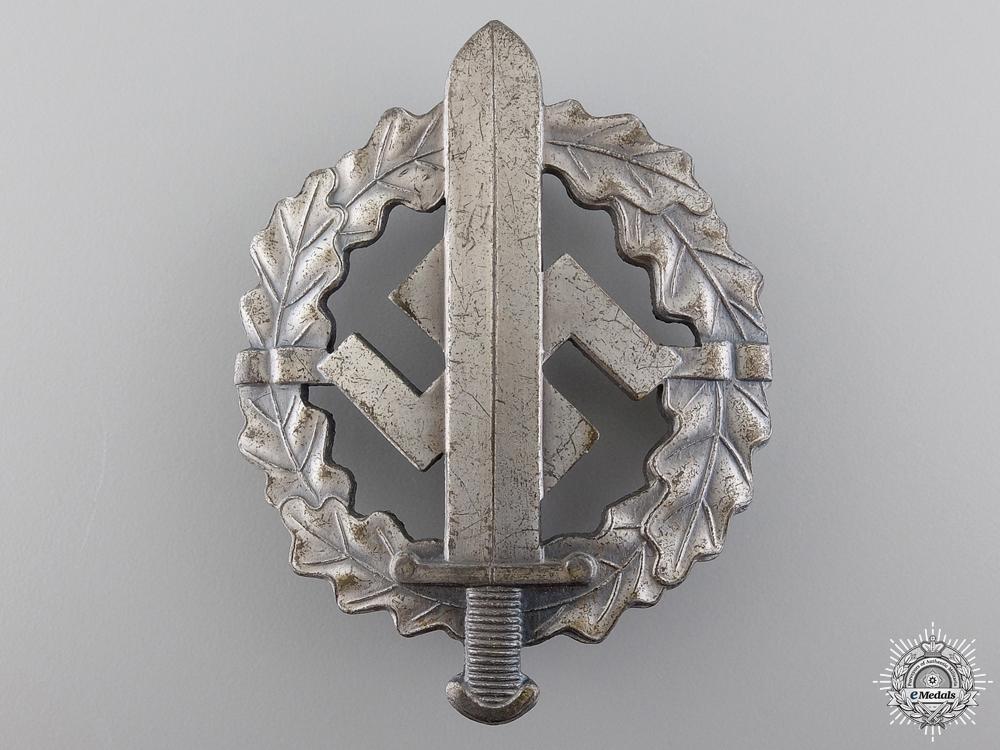 An SA Sports Badge; Silver Grade