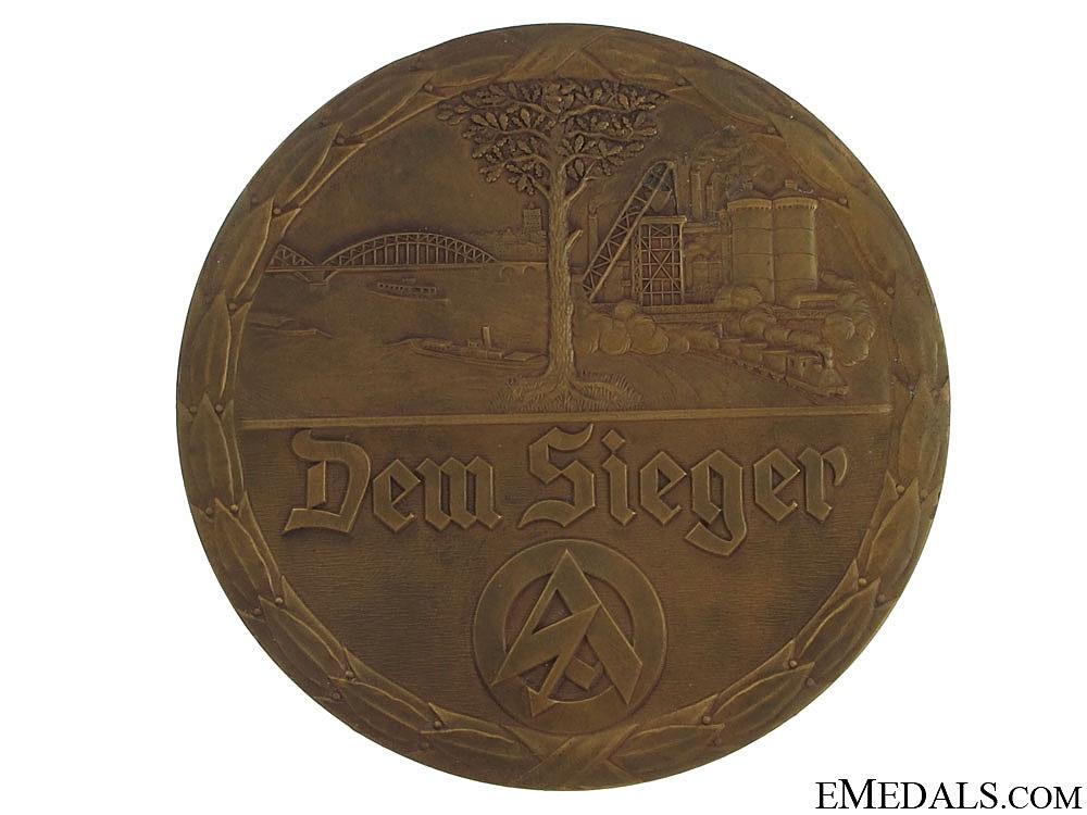 An SA Table Medal