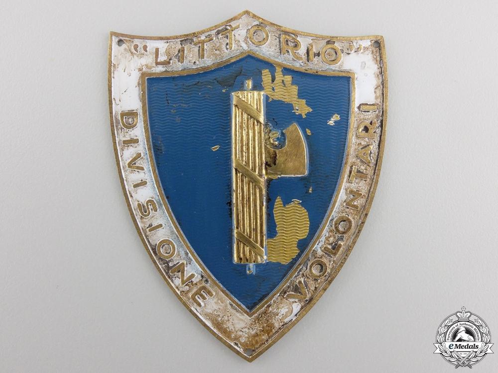 An Second War Italian Fascist Sleeve Shield