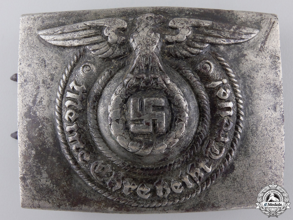 An SS Belt Buckle by Overhoff & Cie, Ludenscheid