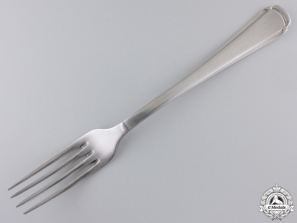 "An SS Dinner Fork by ""Roneusil Rostfrei"""