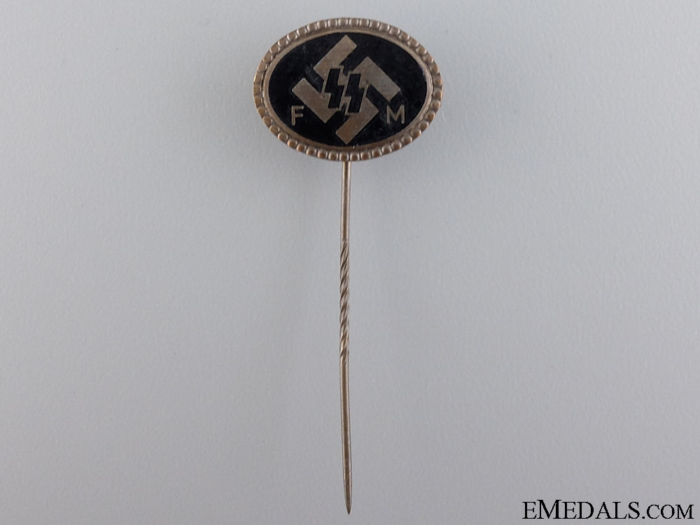 An SS FM Supporting Membership Pin