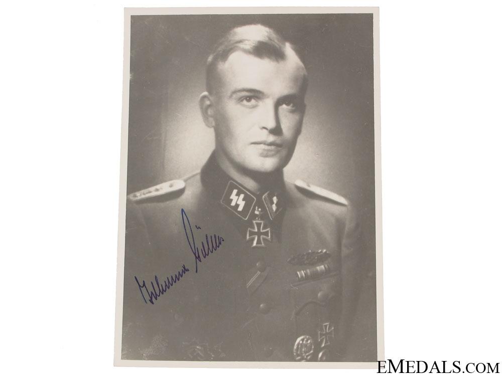 An SS KC Winner Signed Photograph