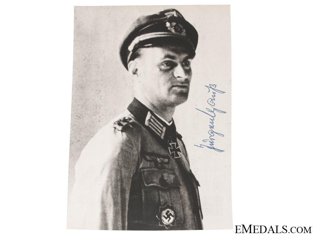 An Army KC Winner Signed Photograph