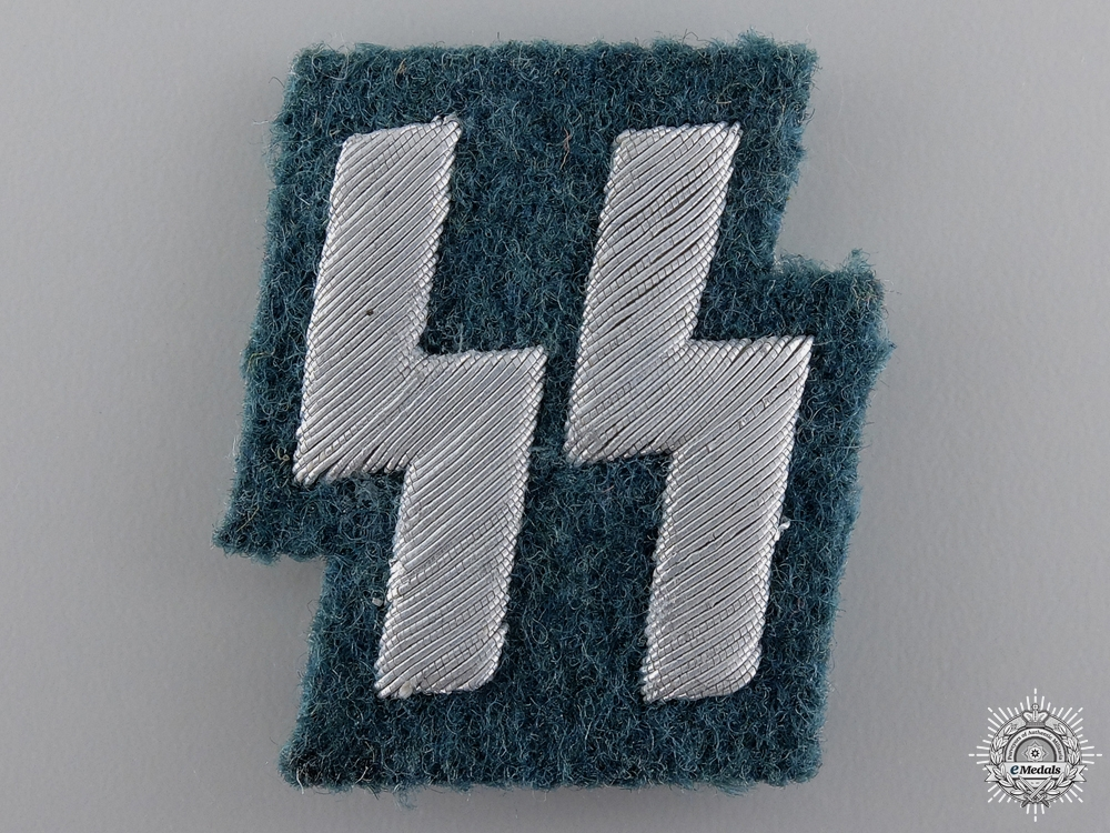 An SS Members Runic Breast Insignia