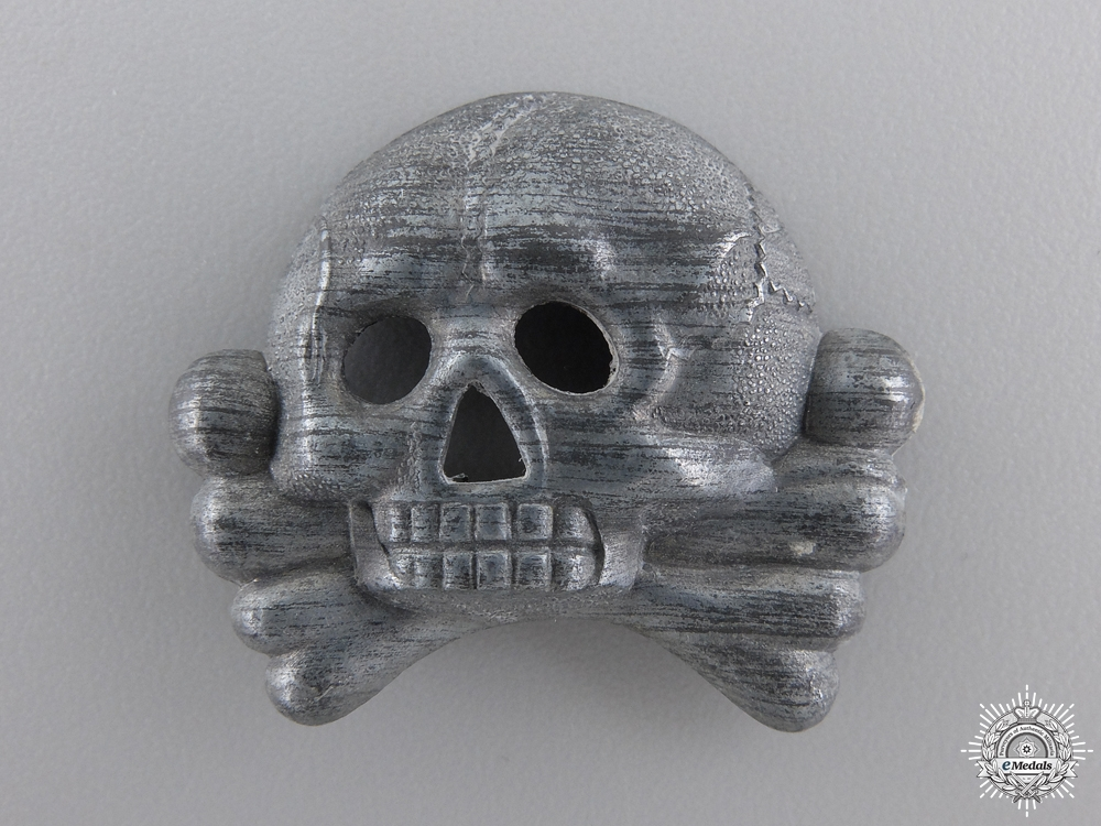 An SS Skull Visor Cap