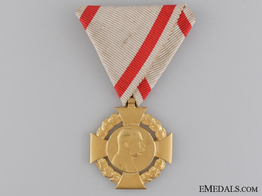 An Unusual 1848-1908 Austrian Commemorative Cross