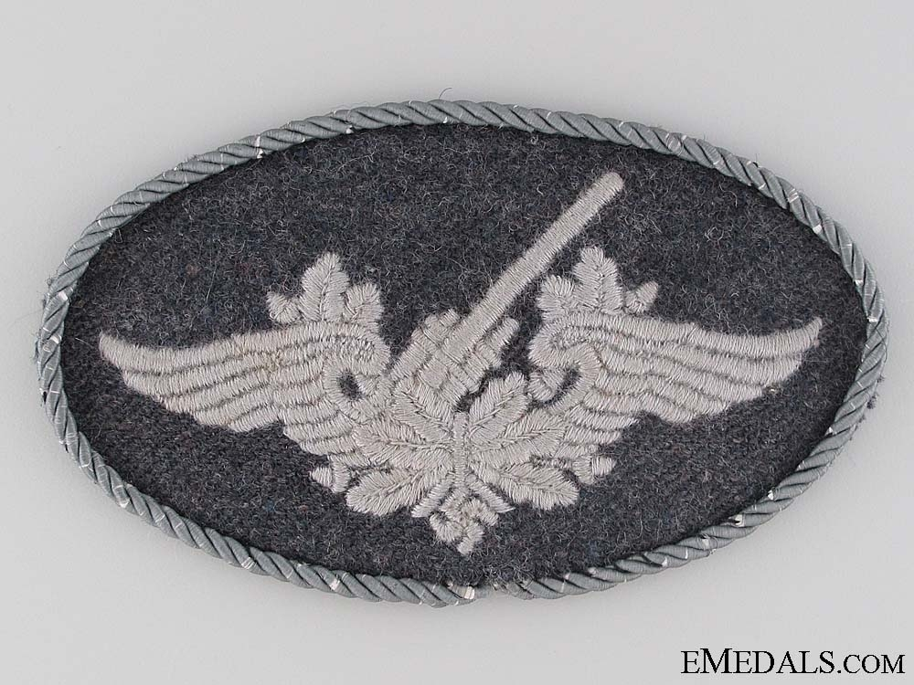 Anti-aircraft Cloth Badge