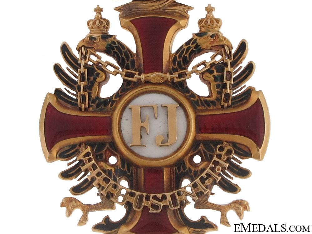 "Order of Franz Joseph ""¢¤ Gold"