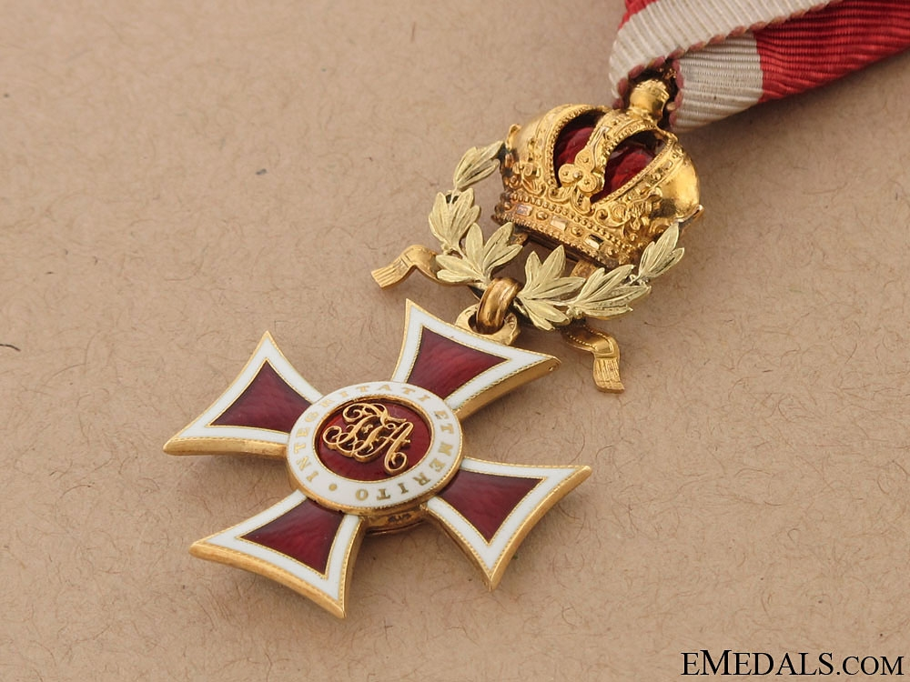 "Order of Leopold ""¢¤ Gold, circa 1860-1866"