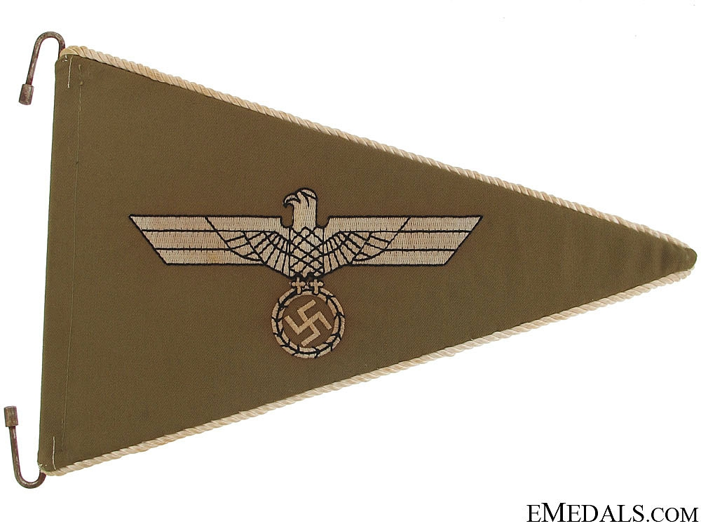Army (Africakorps) Fender Pennant