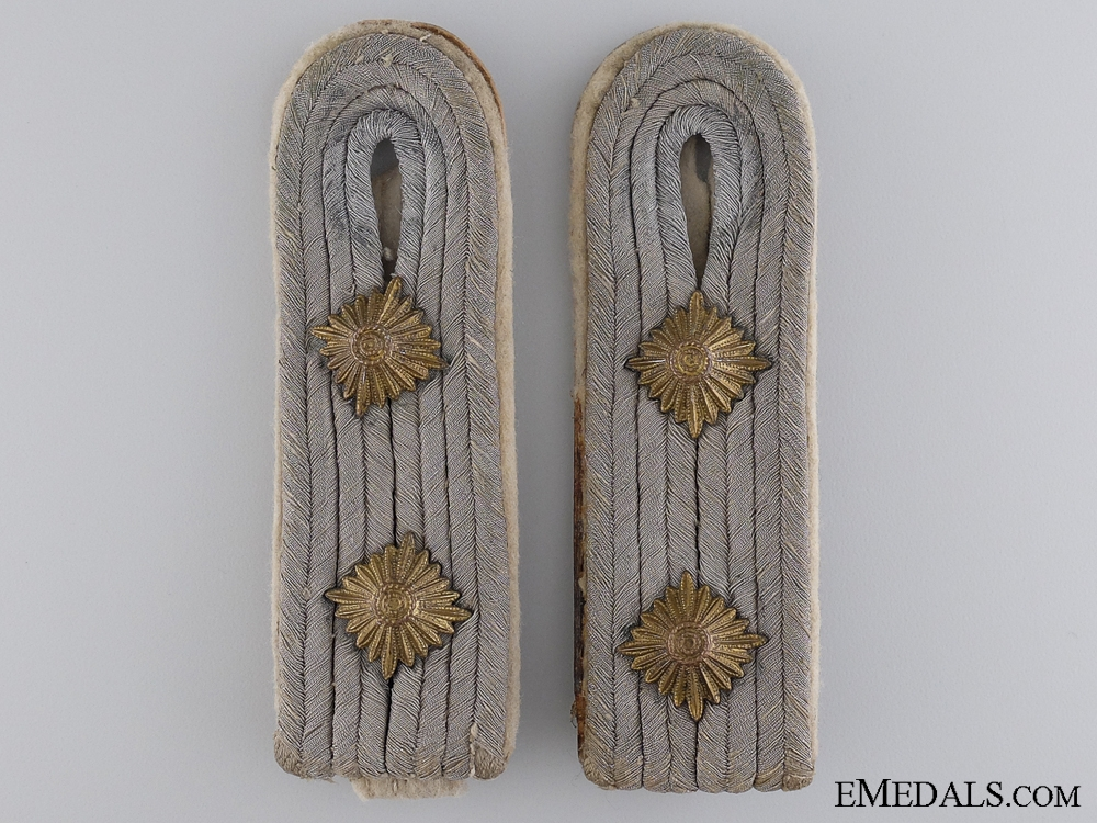 Army (Heer) Infantry Hauptmann's (Captain's) Shoulder Boards