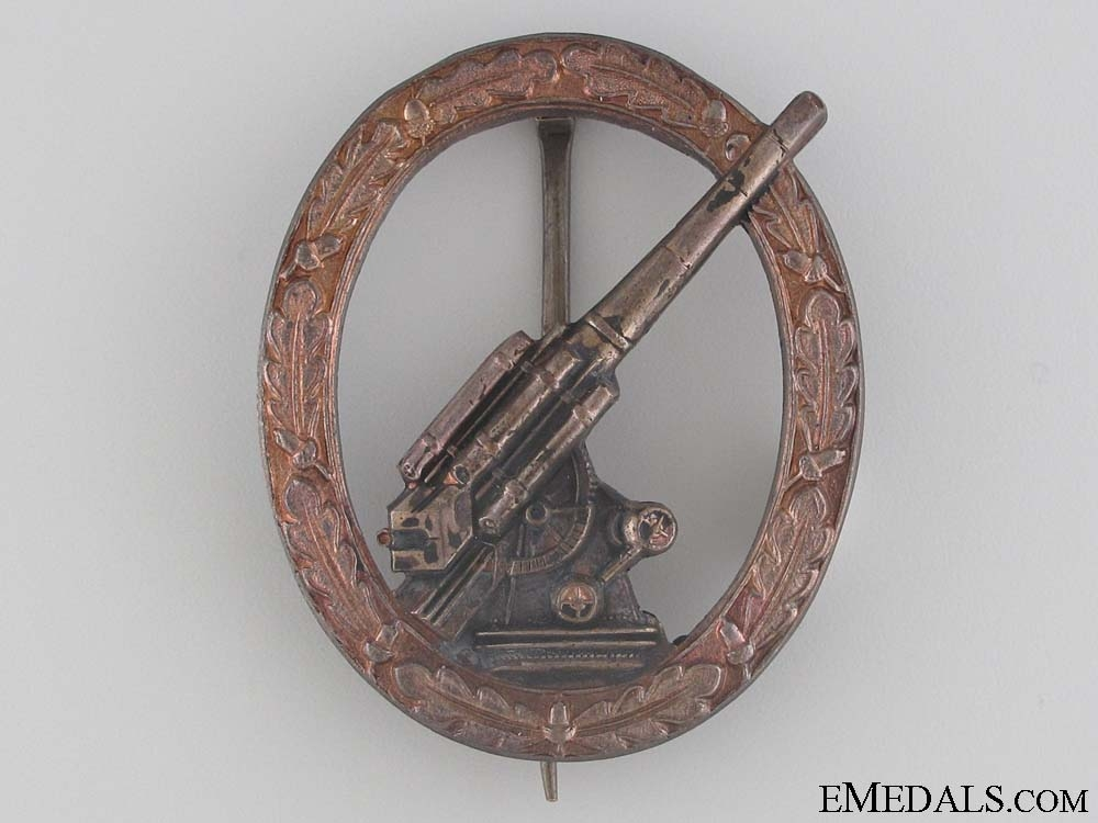 Army Flak Badge - 1957 Issue