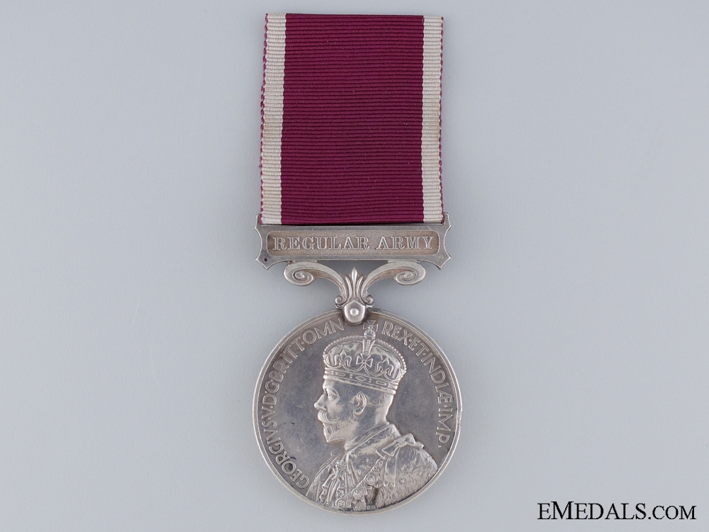 Army Long Service & Good Conduct Medal to the Royal Artillery