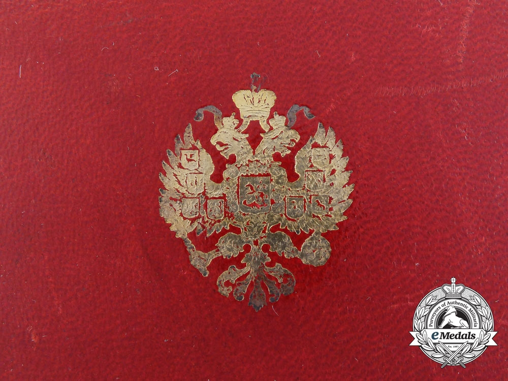 A Russian Imperial Order of Saint Stanislas 2nd Class Case
