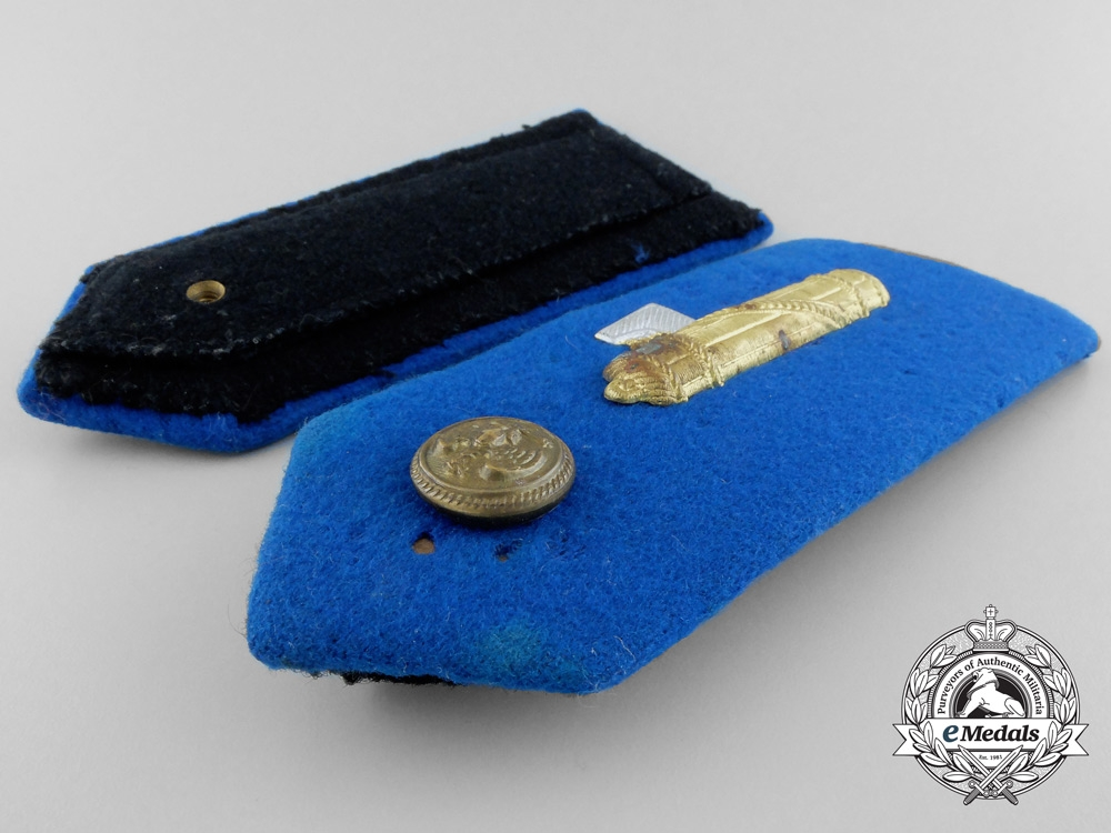 An Italian National Fascist Party (PNF) Official's Shoulder Board Pair