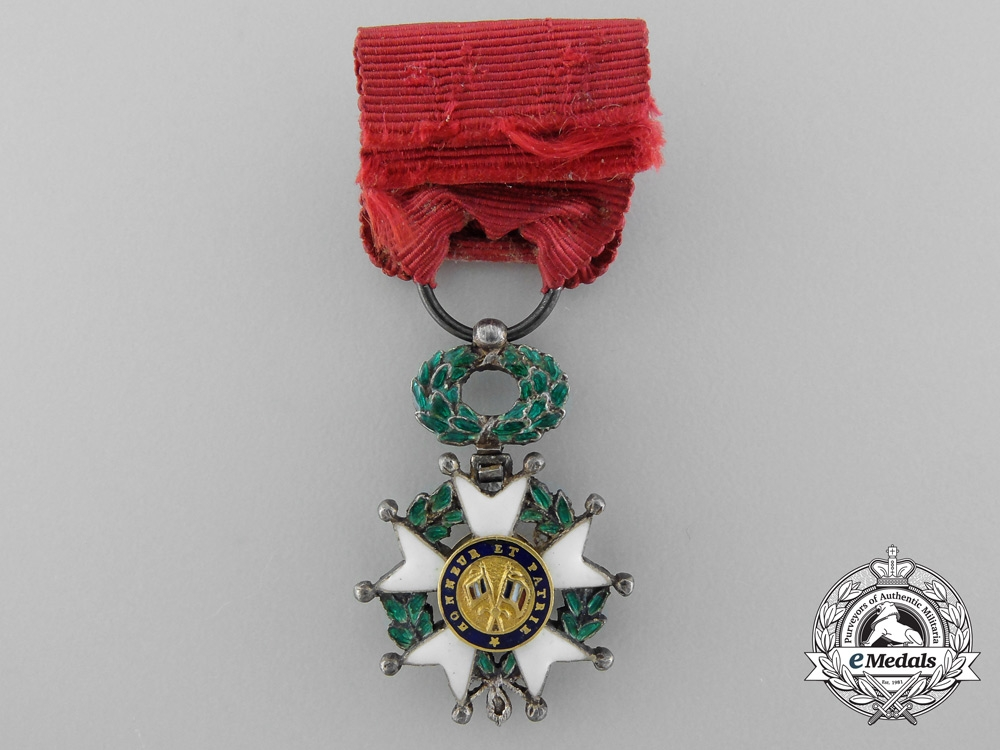 A Fine Miniature French Legion D' Honneur