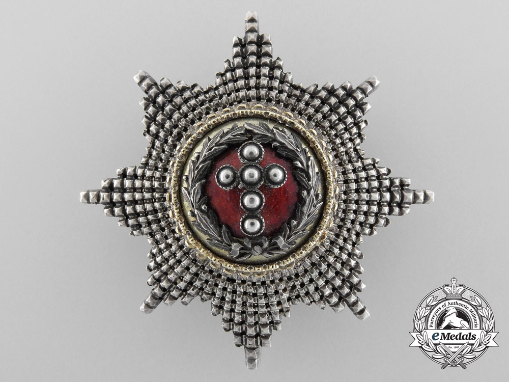 Denmark. An Order of the Elephant, Attributed to King Carl XV of Sweden