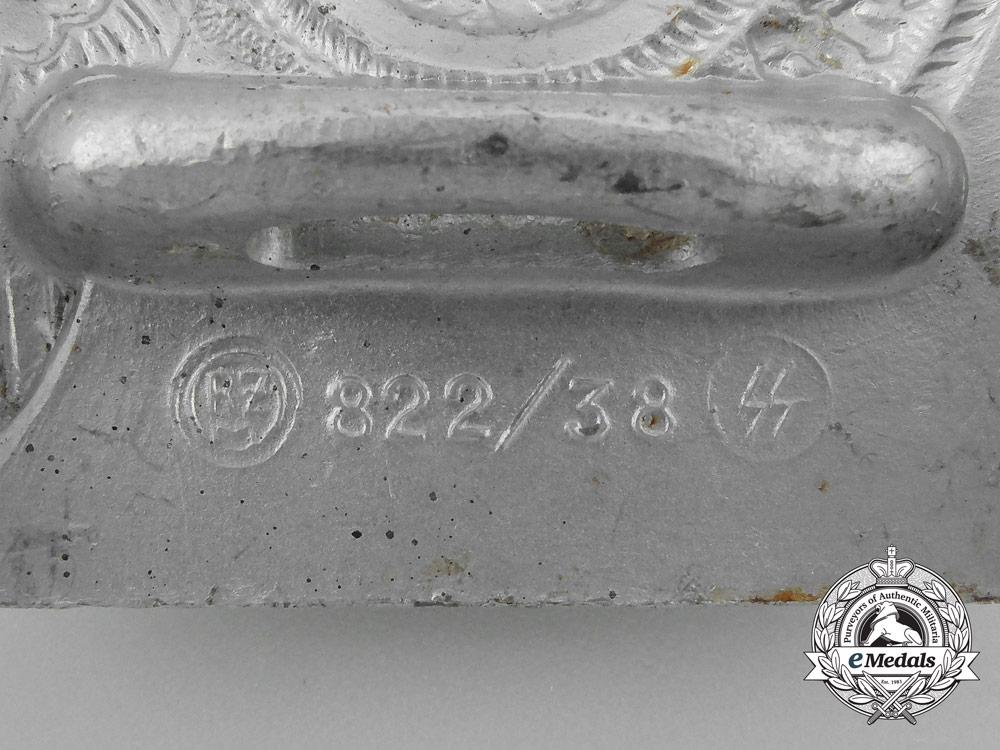 An SS EM Belt Buckle; RZM 822/38