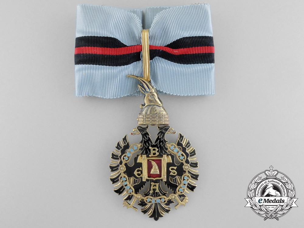 An Albanian Knights of Malta Order; Grand Officer (1940-1944) by E.Gardino, Rome