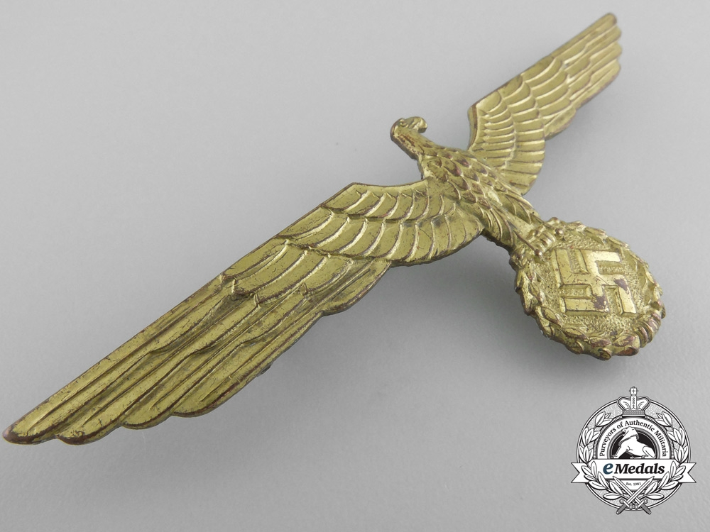A Kriegsmarine Breast Eagle in Cupal