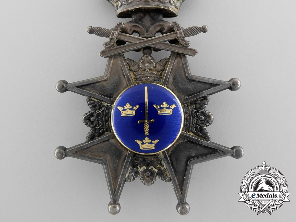 A Swedish Order of the Swords; Knight