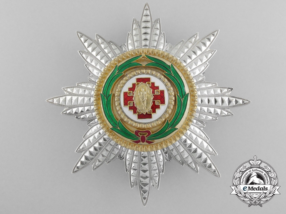 An Order of the Holy Sepulchre of Jerusalem; Grand Collar and Breast Star