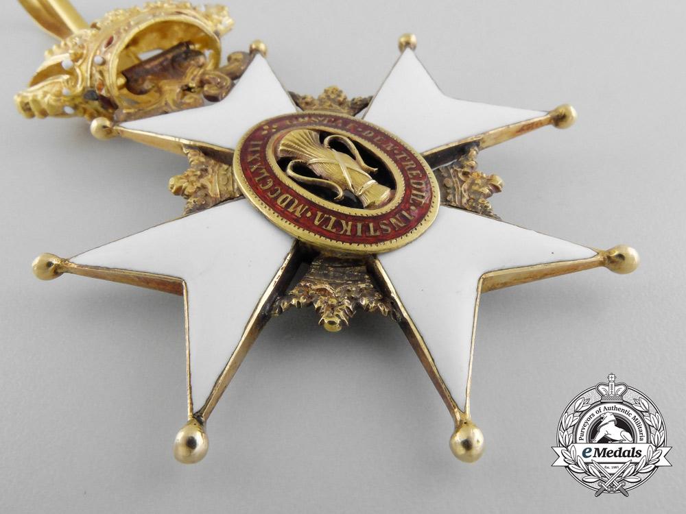 Sweden, Kingdom. An Order of Vasa in Gold, Grand Cross Badge