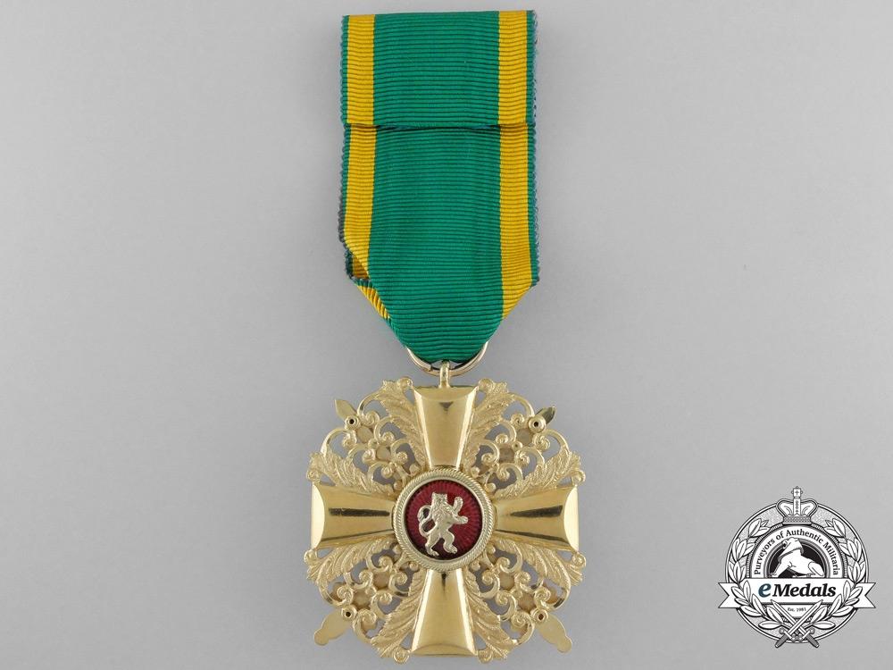 An Order of Zhringen Lion of Baden; Knight First Class in Gold
