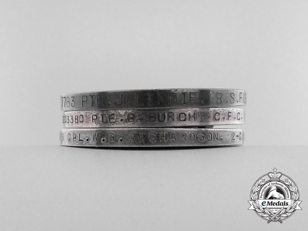 Three British War Medals