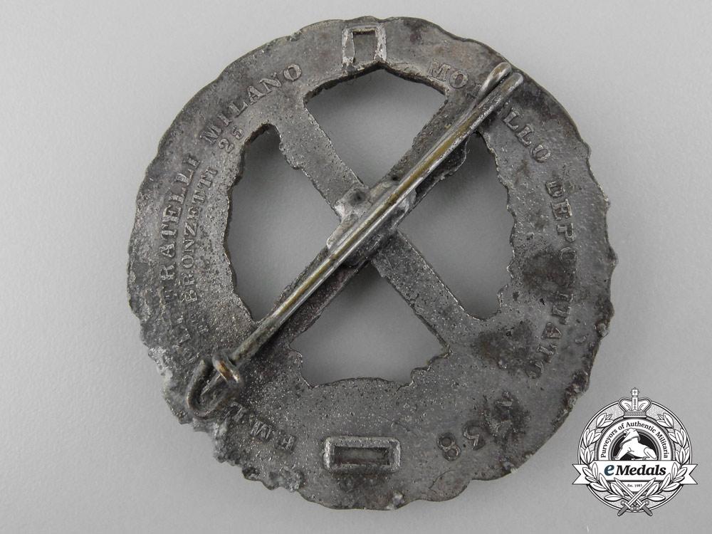 A Second War Italian Russian Front Badge